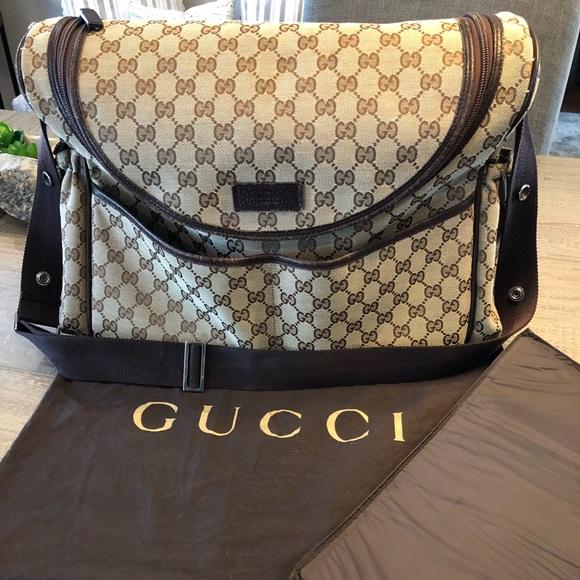 18e7ed3571f9 Gucci Bags | Authentic Supreme Diaper Bag | Poshmark